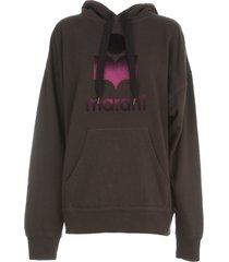 isabel marant étoile mansel l/s hooded sweatshirt
