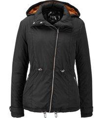 giacca con cerniera obliqua (nero) - bpc bonprix collection
