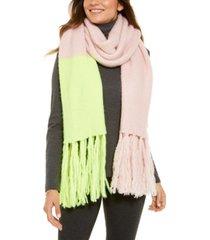steve madden colorblocked scarf