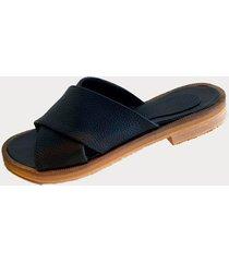 sandalia  negra india shoes francia