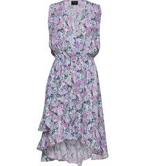 harper dress knälång klänning multi/mönstrad ravn
