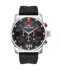 relógio cronógrafo philiph london masculino - pl80198629m prateado