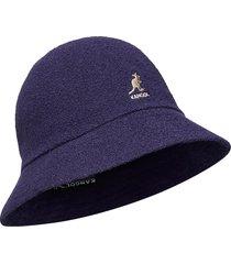 kg bermuda casual accessories headwear blauw kangol