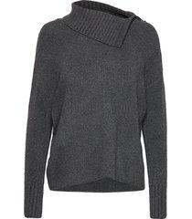 cornice stickad tröja grå max&co.