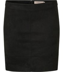 kjol carjulia faux suede bonded skirt