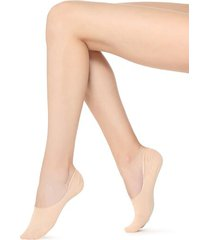 calzedonia invisible high cut socks woman ivory size 40-41
