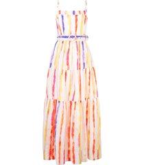 nicholas vestido kerala com amarração - branco