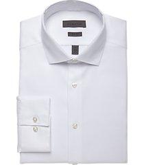 calvin klein white slim fit dress shirt