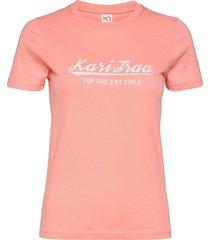 mlster tee t-shirts & tops short-sleeved rosa kari traa