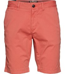 international slim chino lite short shorts chinos shorts rosa superdry