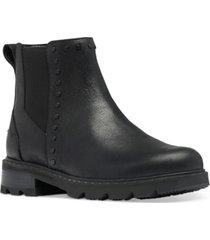 sorel women's lennox chelsea stud booties women's shoes