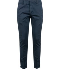 dondup classic fitted trousers