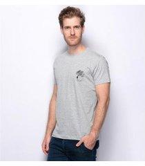 camiseta teodoro estampada árvore malha confort masculina - masculino