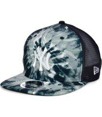 new era new york yankees tie dye mesh back 9fifty cap