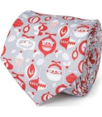 star wars holiday mando men's tie