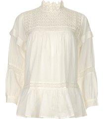 kanten blouse cia  wit