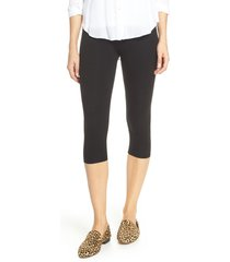 women's nordstrom go to high waist capri leggings, size x-small - black