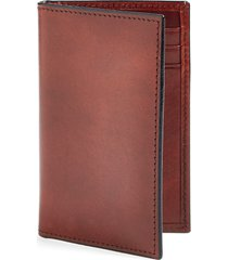 men's bosca old leather card case - brown