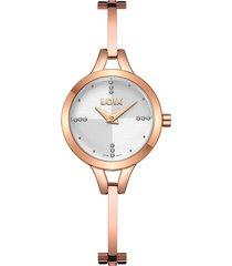 reloj para dama marca loix ref l 1170-08 rosa