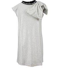 balmain dress zilver