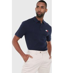 polo azul navy tommy jeans