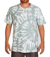 camiseta lost dye dont panic - verde - masculino - dafiti