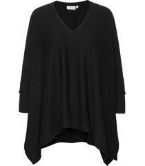 fosna stickad tröja svart masai