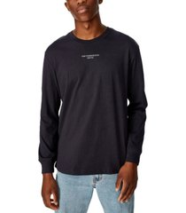 cotton on tbar long sleeve t-shirt