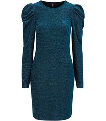 klänning onldarling l/s glitter puff dress