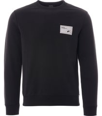 apc sweatshirt | black | h27562