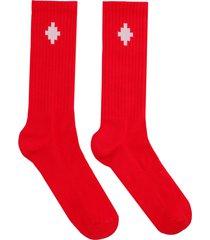 marcelo burlon socks