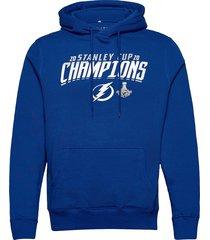 2020 stanley cup champions top line hoodie hoodie trui blauw fanatics