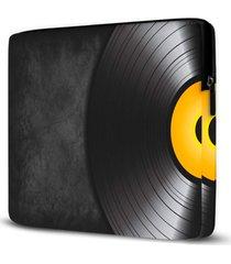capa para notebook disco vinil 15 polegadas