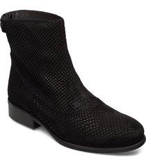 boots 82990 shoes boots ankle boots ankle boots flat heel svart carla f