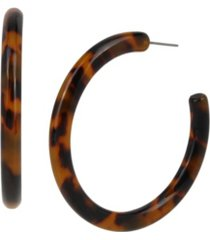 jessica simpson tortoise hoop earrings