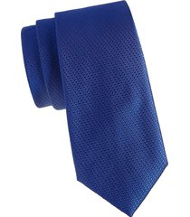 canali men's patterned silk tie - pink blue