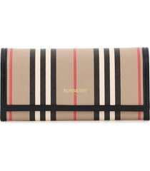 burberry heron stripe wallet