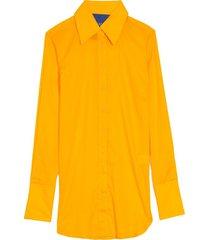 rowena shirt in sunset orange