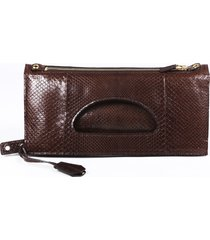 tom ford alix python fold over handbag