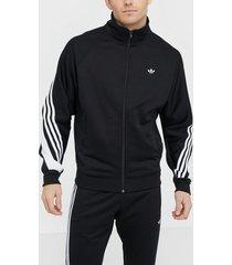 adidas originals 3stripe wrap tt tröjor svart/vit