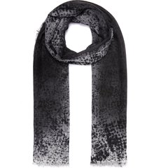 'infinity' gradient cashmere scarf