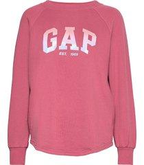 gap shine tunic sweat-shirt tröja rosa gap