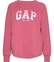 gap shine tunic sweat-shirt tröja rosa gap