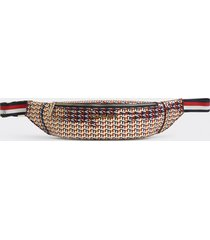 banano iconic monogram multicolor tommy hilfiger