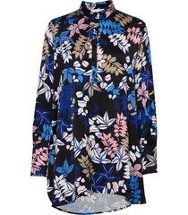 judith blouse lange mouwen blauw munthe