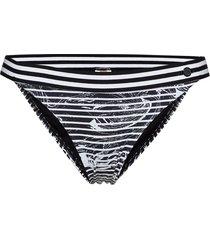 marble hipster pant bikinitrosa svart sunseeker