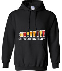 celebrate beer diversity funny novelty t-shirt hoodie