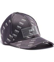 'not for sale' logo print satin baseball cap