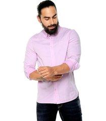 camisa rosado medio  americanino