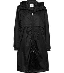 den jacket regenkleding zwart makia